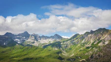 Mountains landscape in Vorarlberg, Austria Stock Photo - 21643465