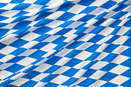 Oktoberfest blue checkered fabric background Stock Photo - 22084192