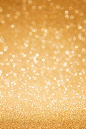 hintergrund: Goldenes Funkeln Weihnachten abstrakten Hintergrund Lizenzfreie Bilder