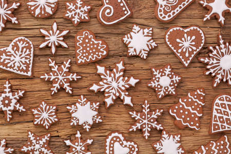 Peperkoek rendier cookies en kerstversiering