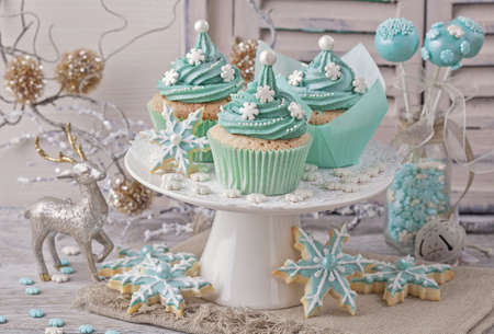 pastel: Pastel colored sweets for christmas