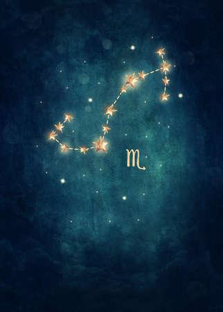 escorpio: Escorpio signo astrológico en el zodiaco