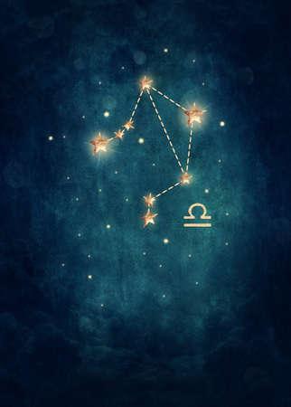 Weegschaal astrologische teken in de Dierenriem