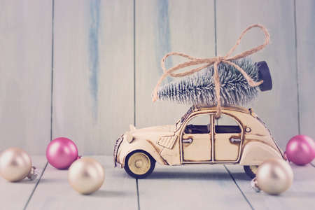 christmas deco: Pastel colored decoration for christmas