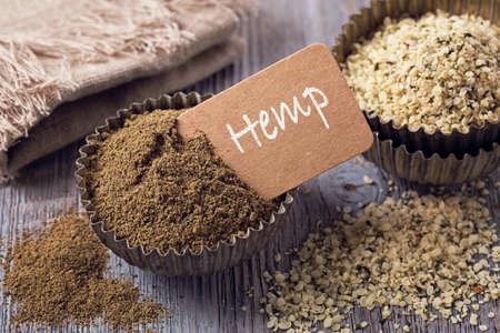 hemp: Gluten free hemp flour and seeds