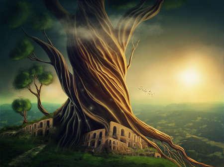 Big fantasy tree and the ?ity