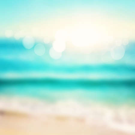 Illustration of abstract sea background Stock Photo