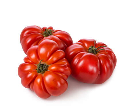 beefsteak: Beefsteak tomatoes isolated on a white background