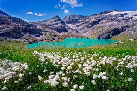 Lake in the High Tauern National Park, Austria Stock Photo