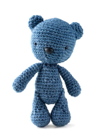 Amigurumi bear Stock Photo