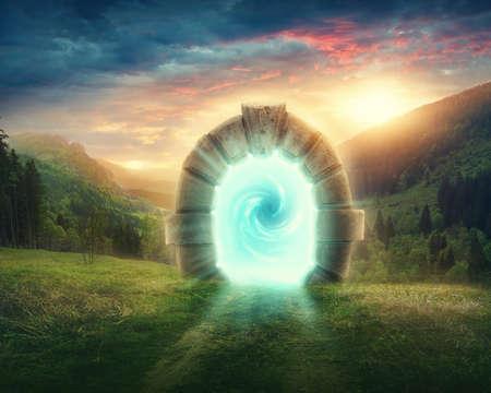 Mysterieuze toegang tot nieuw leven of begin