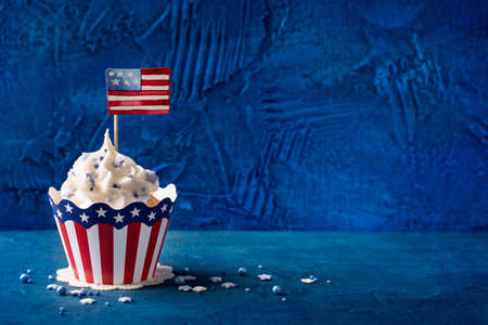 Patriotic Fourth of July Cupcakes