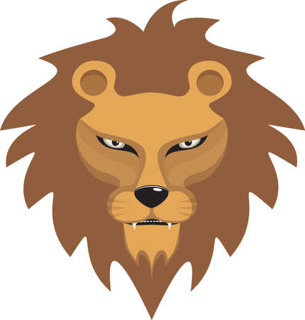 Lion vector illustration Ilustrace