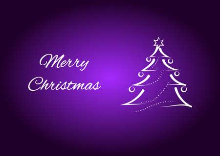 christmas greeting card: Merry Christmas greeting card.