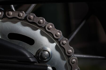the dirt: Dirt motorcycle chain