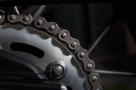 dirt: Dirt motorcycle chain