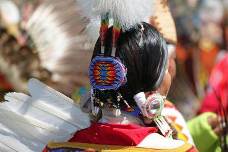 regalia: Indian Regalia at a Summer Powwow
