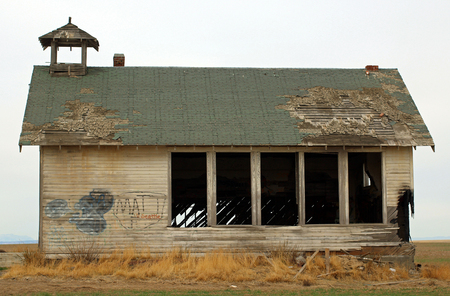 schoolhouse: Abandoned Country Schoolhouse