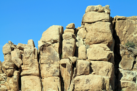 joshua: Rock Formations at Joshua Tree National Park