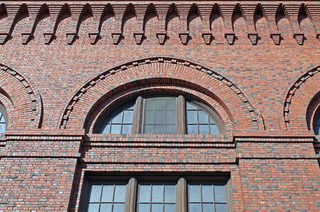brick building: Exterior of a Red Brick Building