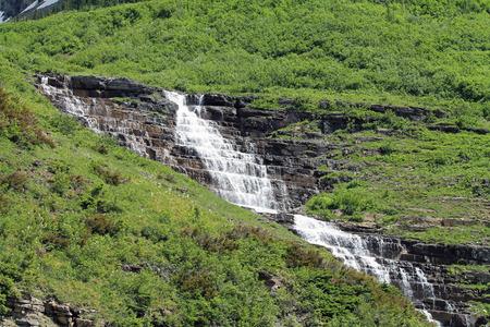 滝氷河国立公園 写真素材