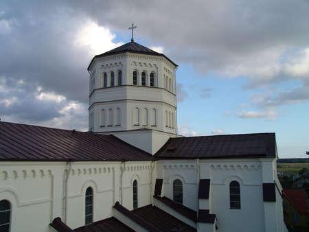 orison: Church Stock Photo