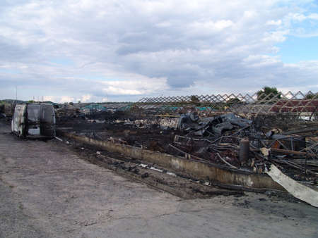 decomposed: Fire consequences of business district