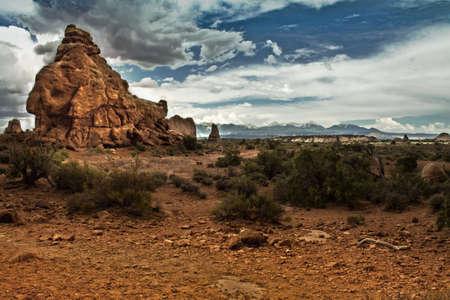 미국 국립 공원의 큰 바위 스톡 콘텐츠