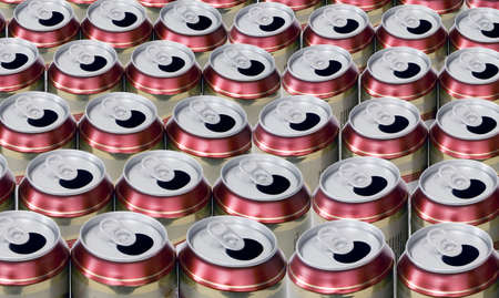 empty beer cans Stock Photo - 852719