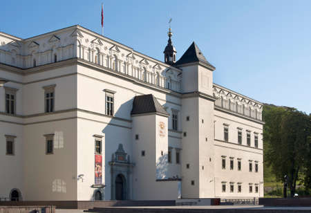 grand palace: Palace of the Grand Dukes of Lithuania in Vilnius