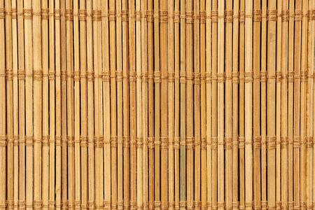 Bamboo mat texture. Natural background. Close up