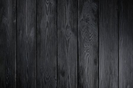 Texture bois noir pour la conception et l'arrière-plan. Fond naturel Banque d'images