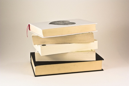 stacked books Stock Photo - 12456291