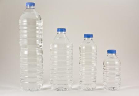 plastic water bottles photo