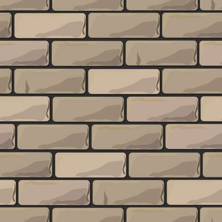 brick wall seamless illustration background - texture pattern for continuous replicate.