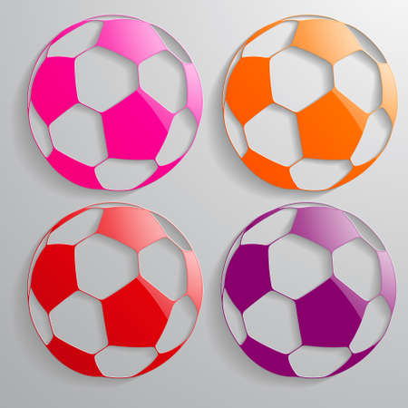 3d  ball: 3D ball  multicolored Stock Photo