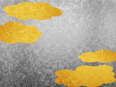 Gold leaf and silver leaf