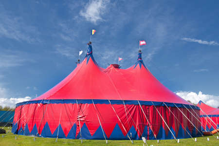 marquee tent: Circus Stock Photo