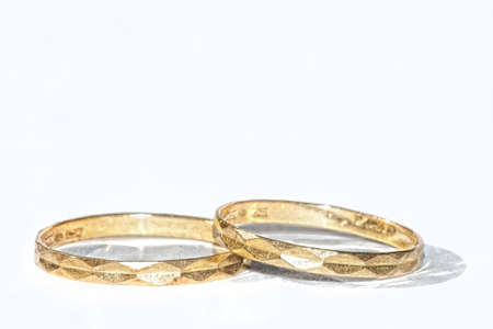 Golden rings Stock Photo - 18042406