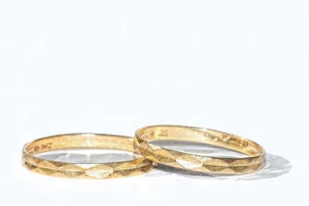 Golden rings Stock Photo - 18042406