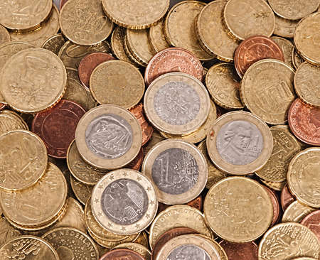 Euro coins Stock Photo - 18042545