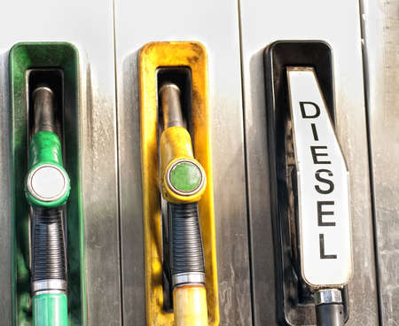 fueling pump: Gas station