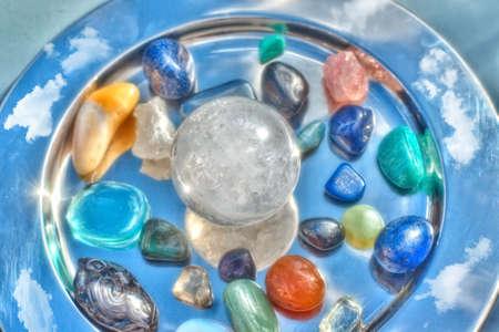 piedras preciosas: Las piedras semipreciosas Foto de archivo