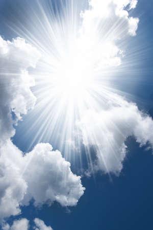 Spiritual clouds photo