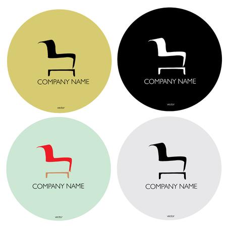 empresa de muebles logotipo de nombre