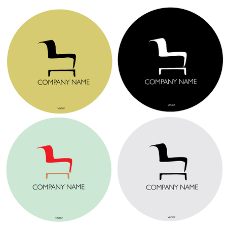 modern furniture: Furniture company name logo