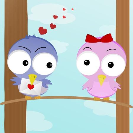 De figuur toont twee vliegen in liefde met elkaar