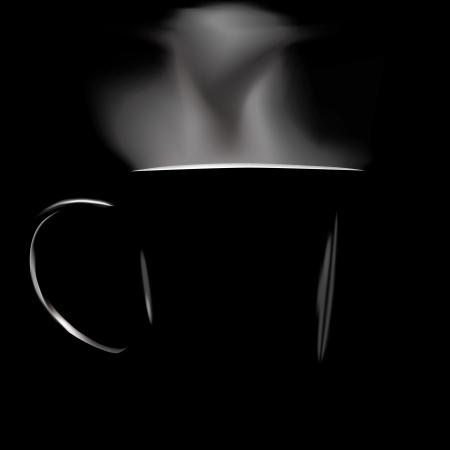 어두워: 검정색 배경에 그림 실루엣 원