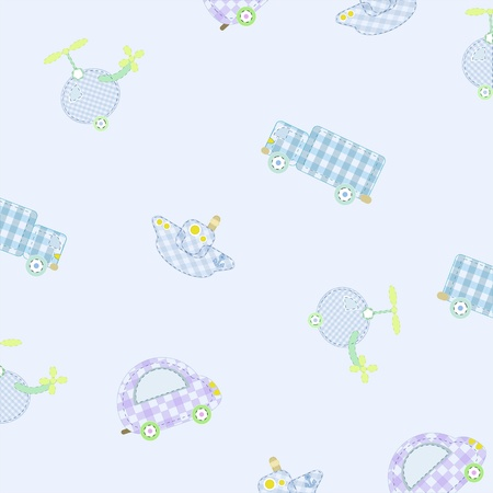 children s pattern Vector