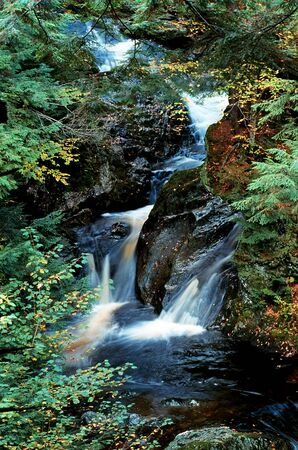 A picturesque waterfall Stock Photo - 12802302
